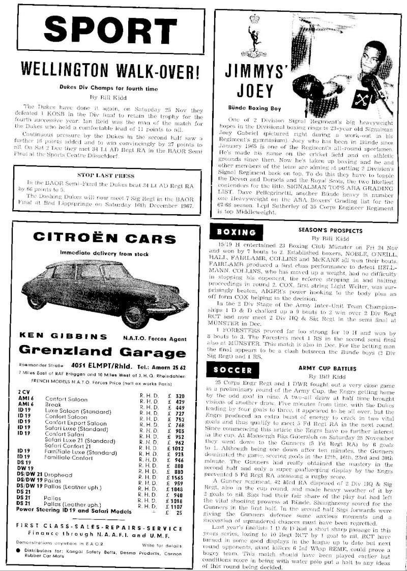 KEYNOTES - Divisional Magazine, December 1967 Keynot12