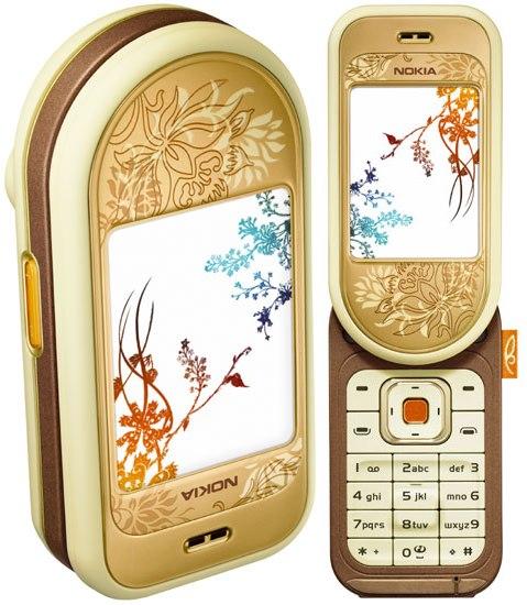HIGH TECH GLAM: EL NOKIA 7370 Nokia710