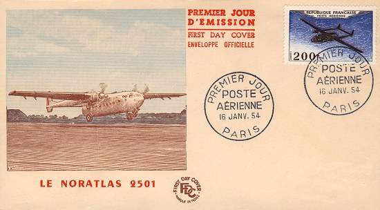 Philatélie Nord 2501 Noratl11