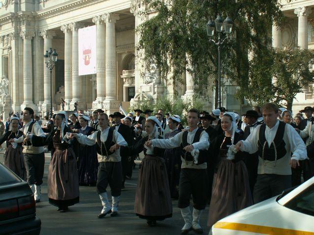la parade des celtes à la télévision Pict6216