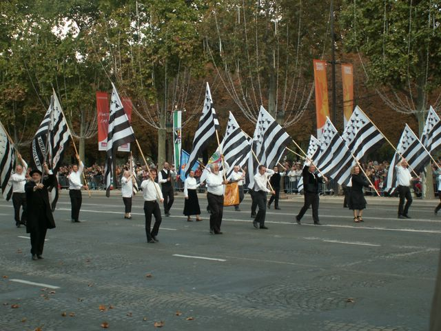la parade des celtes à la télévision Pict6217