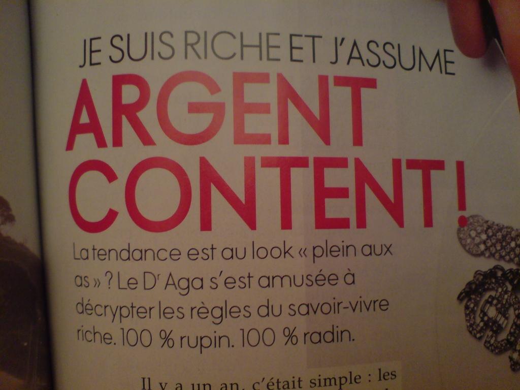 ELLE magazine: définition d'une montre de luxe Dsc00210