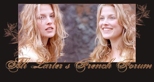 Ali Larter French Fan Club