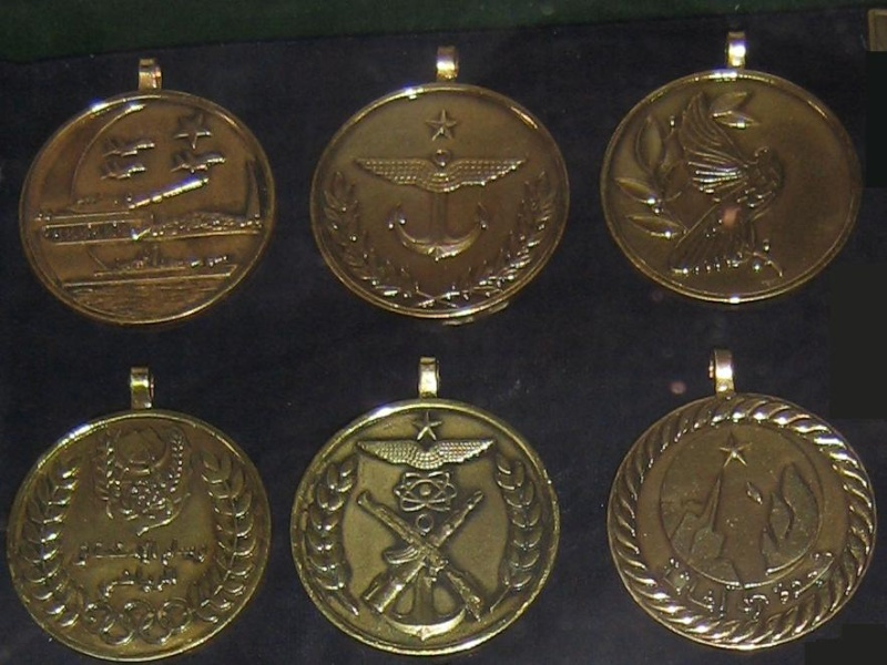 صور اوسمة و ميداليات الجيش الجزائري بالتفصيل Ba41010