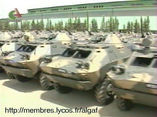 الجيش الجزائري Brdm210
