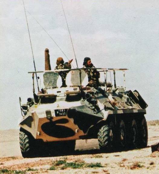 الجيش الجزائري Btr-6010