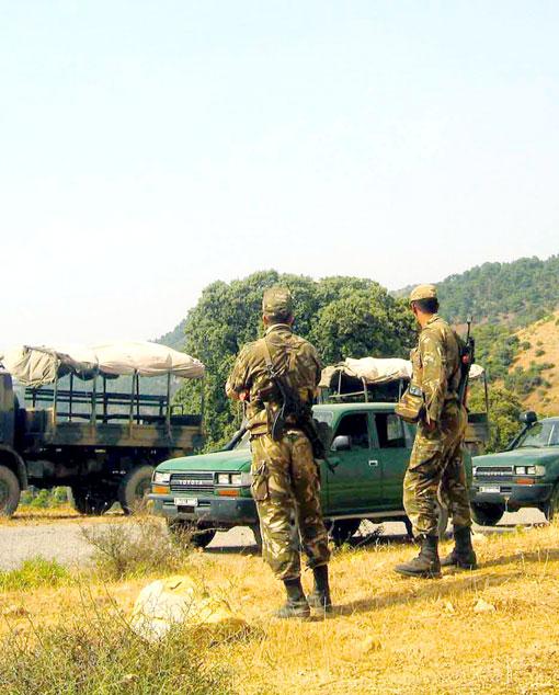 القوات البرية الجزائرية Ratiss11