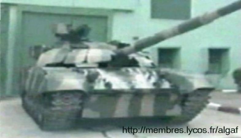 الجيش الجزائري T72-ag10