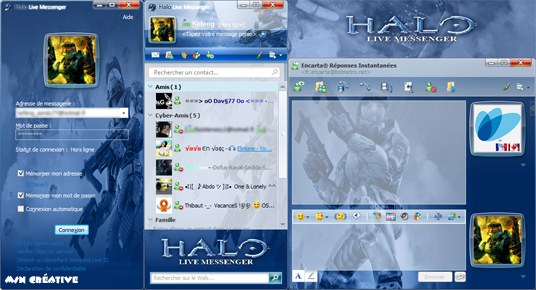 Skin WLM : Halo live messenger Halo2010