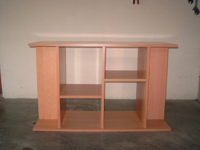 fabrication d'un meuble d'aquarium M4110022