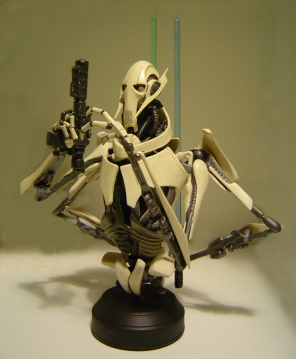 General Grievous Mini bust Dsc04127