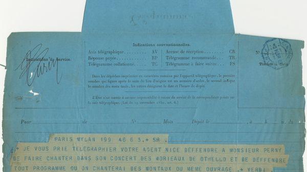 Quand le musée de la Sacem ouvre ses archives.... 600x3310