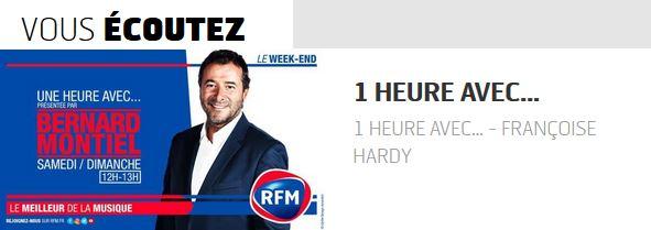16 septembre 2018 - 1 heure avec... Françoise Hardy (RFM) Captu189