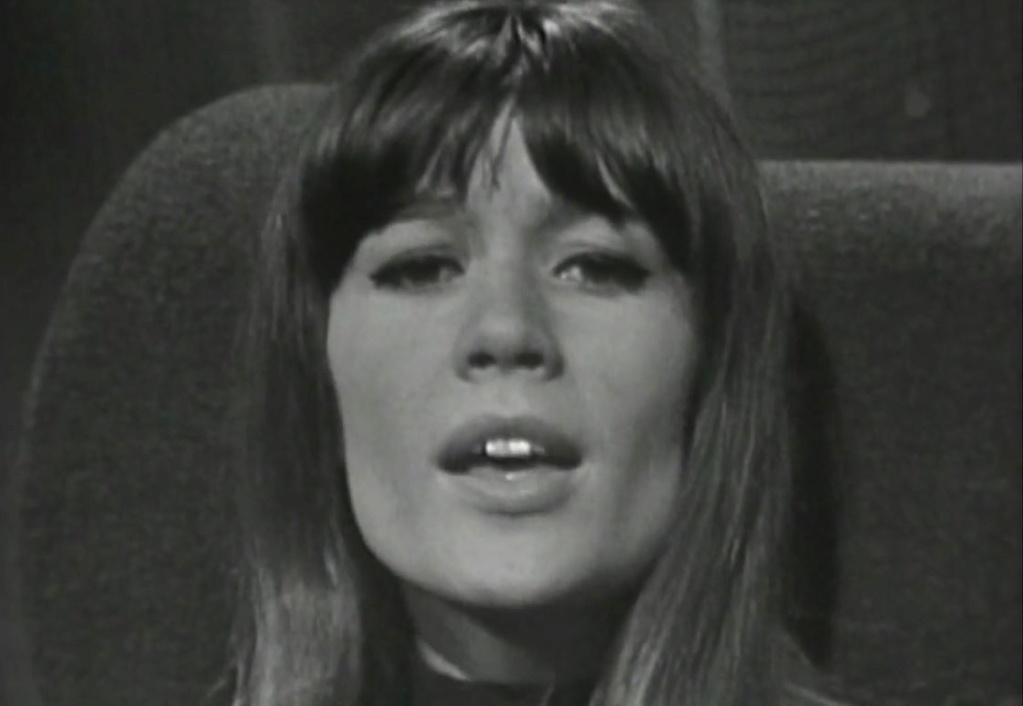 Françoise Hardy  - Mon amie la rose - Accueil Captu204