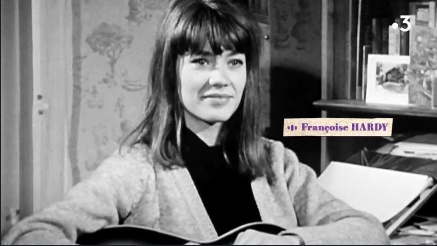 Françoise Hardy  - Mon amie la rose - Accueil Captu207