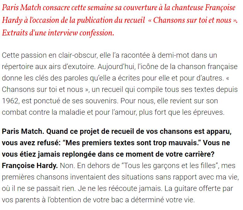 Françoise Hardy  - Mon amie la rose - Accueil Captur14