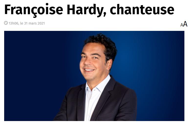 Françoise Hardy  - Mon amie la rose - Accueil Captur20