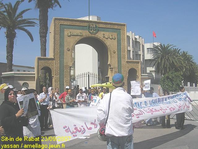 Sit-in de Rabat P1010010