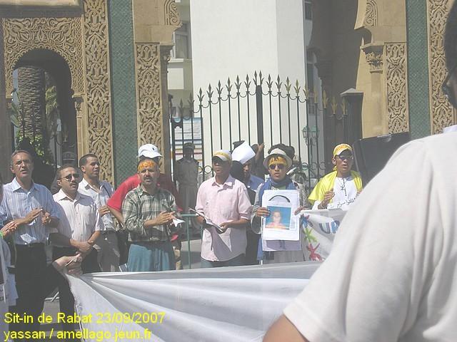 Sit-in de Rabat P1010011