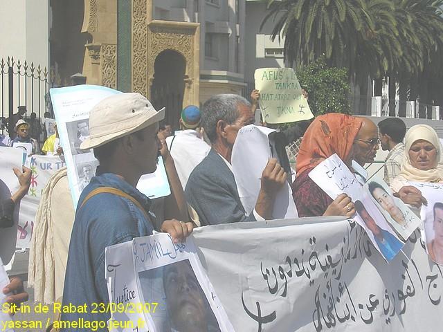 Sit-in de Rabat P1010016