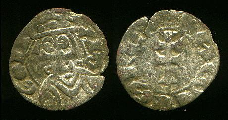 Dinero de Jaime I (Aragon, 1208–1276 d.C) Jaime110