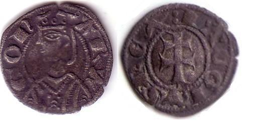 Dinero de Jaime I (Aragon, 1208–1276 d.C) Jaime210