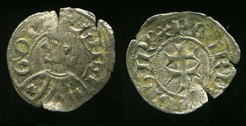 Dinero de Jaime I (Aragon, 1208–1276 d.C) Pedro310