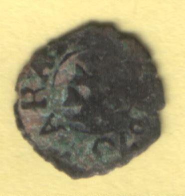 Dinero de Carlos II (Zaragoza, 1665 - 1700 d.C) Rey310