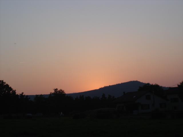 Le temps à Madelonnet du mois de septembre 2007 Ouest19