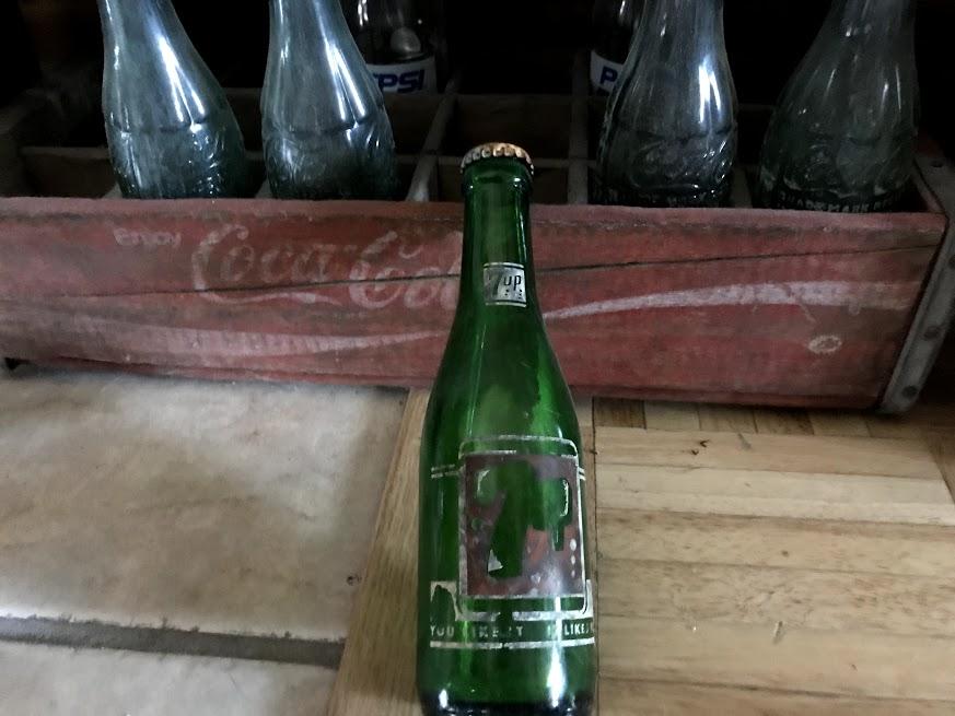 Bouteille soda US WW2 Img_1632