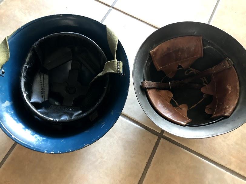 Deux casques aux puces ce matin Img_5813