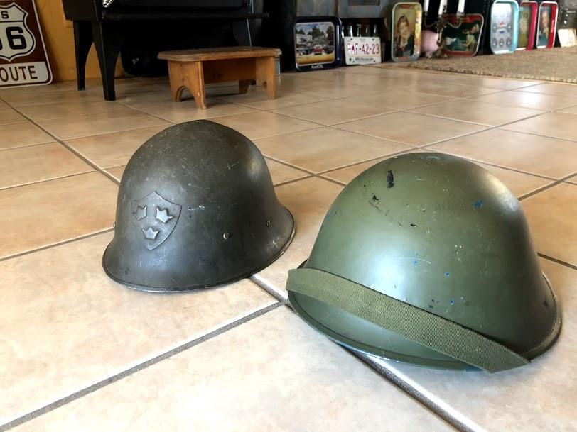 Deux casques aux puces ce matin Img_5814