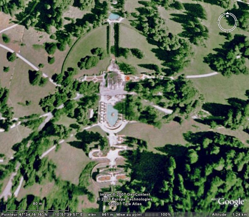 Les châteaux en Allemagne Linder10