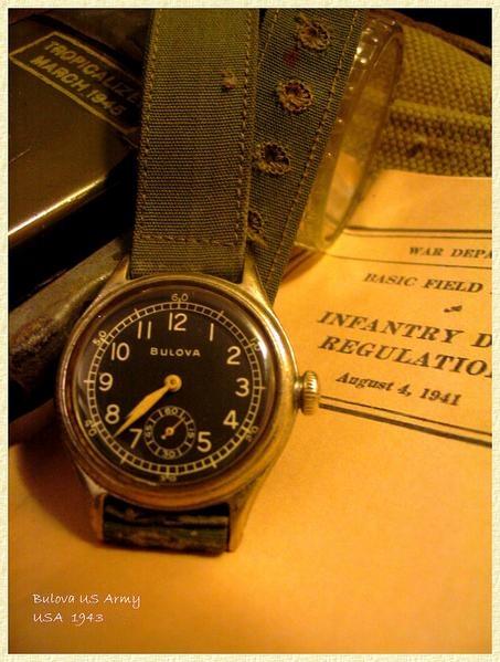 Montres militaires Seconde Guerre Mondiale ou 21eme siecle? Bulova10