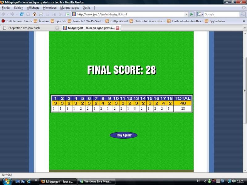 L'heptatlon des jeux flash - Page 4 Golf118