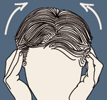 Massage des cheveux Oreill10
