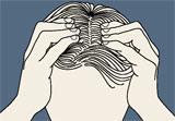 Massage des cheveux Pincem10