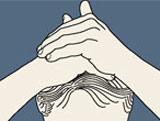 Massage des cheveux Ventou10