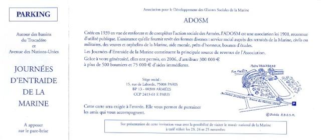 [ Associations anciens Marins ] Journées d'entraide A.D.O.S.M D11_ad11