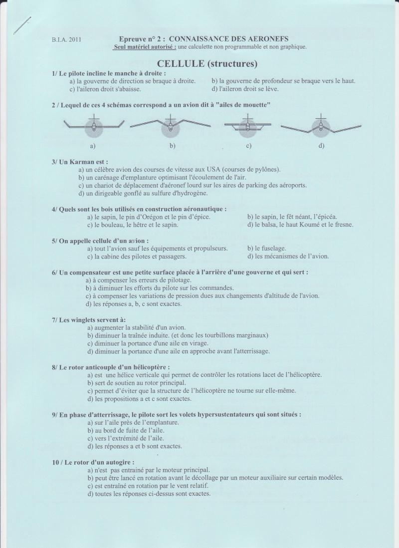 BIA 2011 : corrigé en ligne Bia_0012