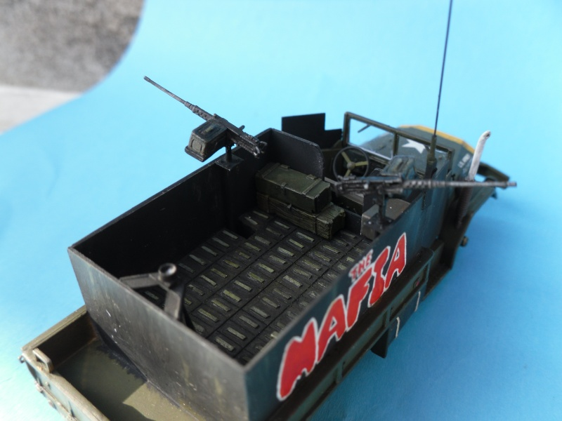 THE MAFIA gun truck nam conversion ACADEMY 1/72° Mafia116