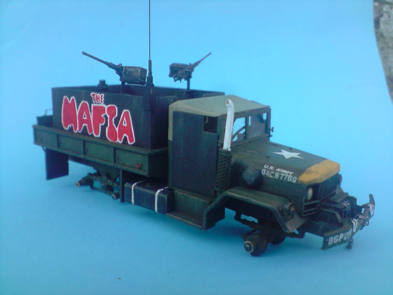 THE MAFIA gun truck nam conversion ACADEMY 1/72° Mafia215