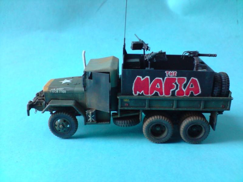 THE MAFIA gun truck nam conversion ACADEMY 1/72° Mafia217