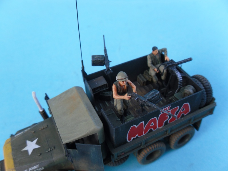 THE MAFIA gun truck nam conversion ACADEMY 1/72° Mafia314