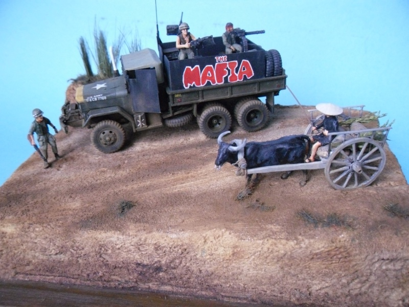 THE MAFIA gun truck nam conversion ACADEMY 1/72° Mafia316