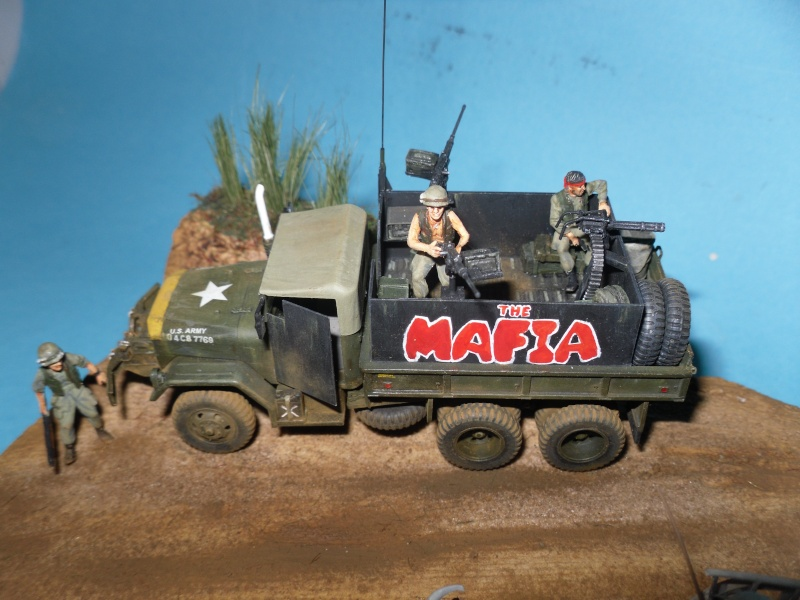 THE MAFIA gun truck nam conversion ACADEMY 1/72° Mafia318