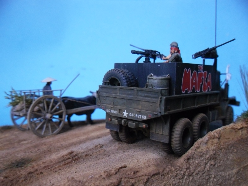 THE MAFIA gun truck nam conversion ACADEMY 1/72° Mafia411