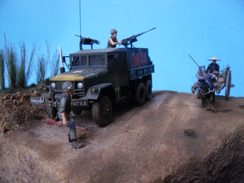 THE MAFIA gun truck nam conversion ACADEMY 1/72° Mafia412
