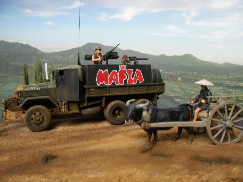 m35 gun truck 1/72° Mafia413