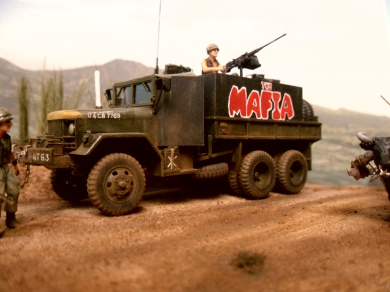 THE MAFIA gun truck nam conversion ACADEMY 1/72° Mafia414